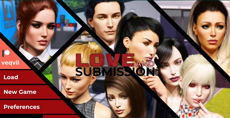 Poster Love and Submission