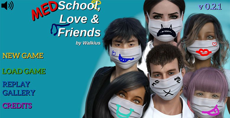 Poster Medschool, Love and Friends